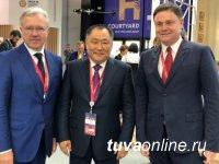 Глава Тувы участвует в работе Петербургского международного экономического форума