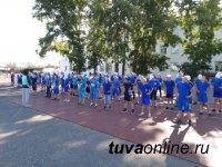 В Кызыле открылся летний лагерь для подготовки будущих кадет