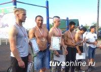 В Кызыле в День России состязались турникмены