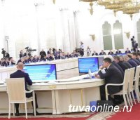 Глава Тувы Шолбан Кара-оол участвует в заседании Госсовета