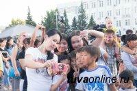 В Кызыле День молодежи отмечают экологическими акциями, мастер-классами и дискотекой