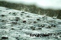 Штормовое предупреждение: 3 июля по прогнозам синоптиков сохраняются сильные дожди и грозы в Туве