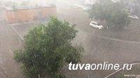 В Туве ожидается усиление ветра, грозы