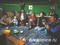 Тува: Первый Наадым для Дианы