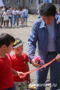 В густонаселенном микрорайоне Кызыла открыт детский клуб «Шурави»