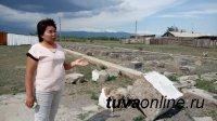 В тес-хемском Ак-Эрике началось строительство новой школы на 176 мест