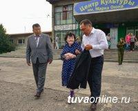 Глава Тувы Шолбан Кара-оол объехал Пий-Хемский район