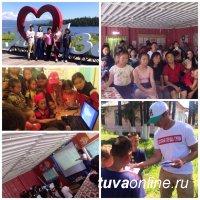 """""""Добрые сердца Тувы"""" провели Урок доброты для детей пришкольного лагеря """"Азас"""""""