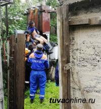 В Кызыле пьяного мужчину ударило током в трансформаторе