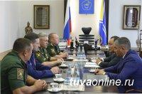 В Туву прибыл новый командир 55-й мотострелковой горной бригады