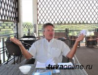В Туве находится с рабочей командировкой корреспондент немецкого еженедельника «Штерн» Йоахим Ринхардт