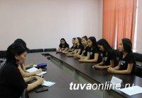 Претендентки на титул «Дангына Тувы» ответили на вопросы журналистов