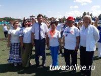 Cвой юбилей Председатель Совета ветеранов Кызыла отметила Веселыми стартами для старшего поколения