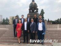 Начало торговых отношений между Тувой и Казахстаном