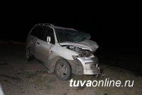 В Туве в столкновении двух автомашин погибла пассажирка