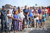 На Левобережных дачах Кызыла открыт новый опорный пункт полиции