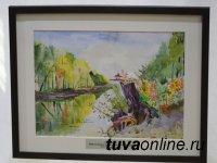 Городские пейзажи Кызыла - на выставке в Доме художников