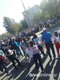 В Кызыле в Кроссе Наций приняло участие более 600 любителей бега