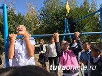 Кызыл: Посвящение в 5-классники в школе № 8 прошло в формате Малых Олимпийских игр