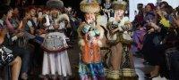 Лучший в «Этностиле в современном костюме» на форуме этномоды на Байкале — Айдаш Сат (Тува)