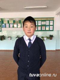 В Туве в поселке Хову-Аксы  12-летний мальчик спас двоих детей из горящей  квартиры