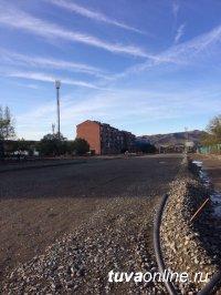 В Кызыле прокладывается новый отрезок улицы Титова