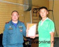 Полицейские Тувы и команды подразделений ГУ МЧС по Туве провели турниры по баскетболу