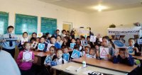 «Шагающий автобус»: в Барун-Хемчикском районе школьники изучают безопасные маршруты