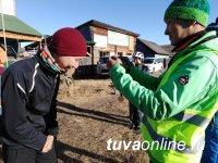 Тува: Денис Сандан-оол показал самые быстрые секунды в скоростном подъеме на велосипеде на горы