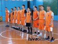 В соревнованиях по баскетболу среди силовиков Тувы лучшие - пограничники