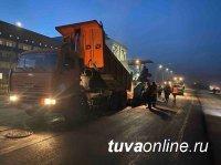 В Кызыле продолжается реконструкция улицы Титова