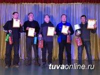 В конкурсе «Минута Славы» среди отцов Кызыла победил 38-летний отец семерых детей Аяс Саая