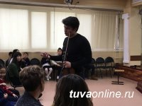В Туве мастер-класс дал знаменитый на весь мир скрипач Петр Лундстрем