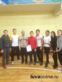В Кызыле в спартакиаде ко Всемирному дню волонтера победила команда Транспортного техникума