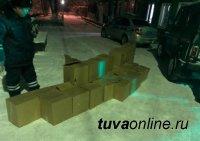 В Туве пресечен факт незаконной перевозки крупной партии спиртосодержащей жидкости