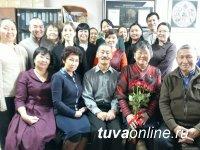 В Туве поздравили с Днем рождения Заслуженного деятеля науки республики Кара-кыс Аракчаа