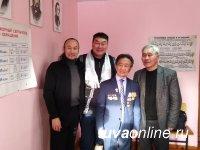 Тува: В селе Эрзин детскую школу искусств назвали именем знаменитого земляка Демир-оола Кежиктига