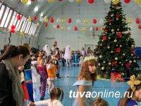 В Туве стартовала Всероссийская акция «Полицейский Дед Мороз»