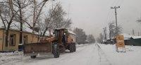 В Кызыле к очистке улиц от снега и наледи привлекли подрядчиков