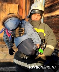 В Туве из-за короткого замыкания чуть не угорели инвалид и пятилетняя девочка