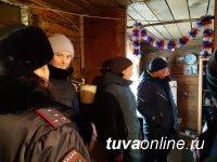 В Кызыле проверяют семьи и дома, где собираются пьяные компании