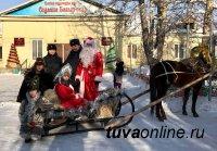 В полиции Кызылского района подключились к Всероссийской акции «Полицейский Дед Мороз»