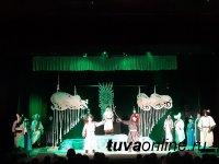 Тува: В преддверии Шагаа премьера спектакля по мотивам тувинской народной сказки о победе добра над злом вызвала ажиотаж
