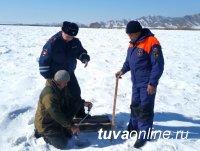В Туве проверили открытые ледовые переправы, Тоджинская остается закрытой