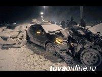 Тува вошла в лидеры рейтинга с наибольшим количеством автомобильных аварий