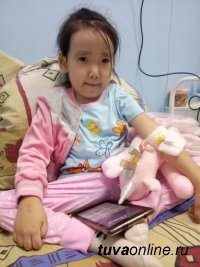 Маленькой Агасте, у которой рак крови, срочно нужны деньги на лечение в Москве