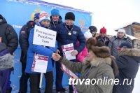 Росгвардия Тувы – двукратный чемпион среди местных силовых структур по лыжным гонкам