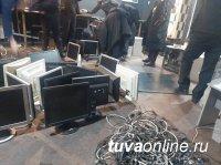 В столице Тувы власти города намерены закрыть незаконные автоматы у Дома Быта