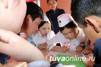 Тува: В Каа-Хемском районе школьники сразились в игре «И помнит мир спасенный», приуроченной к 75-летию Великой Победы