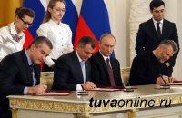 Парламентарии Тувы поздравили жителей Крыма с воссоединением с Россией